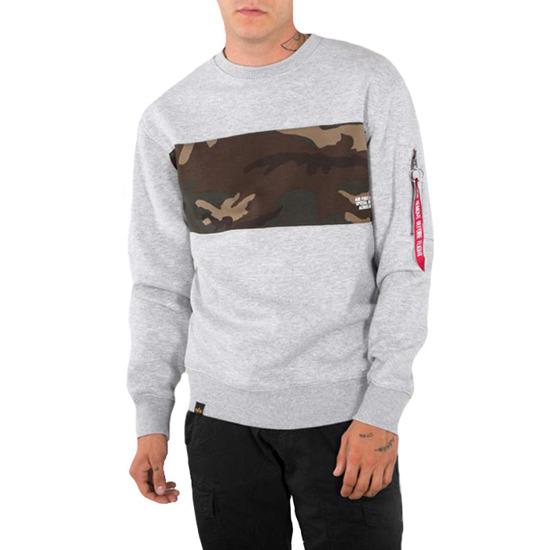 Alpha Industries Herren Sweatshirt Camo Bar | Fruugo AT