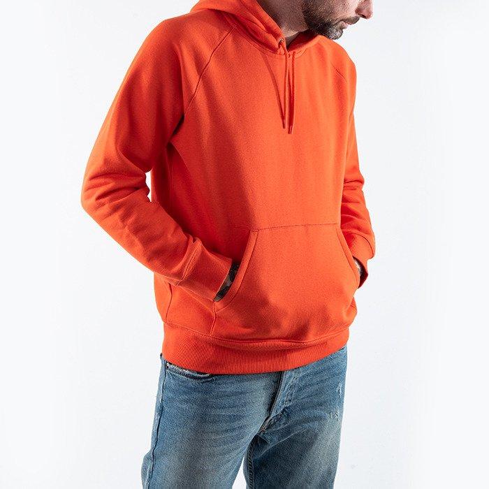 Carhartt Hooded Chase Sweatshirt I026384 SAFETY ORANGEGOLD