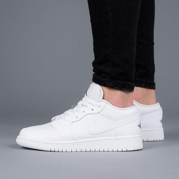 sneakers Jordan 553560 101WEIβ Schuhe Low Damen 1 Air Bg bY6fyg7v