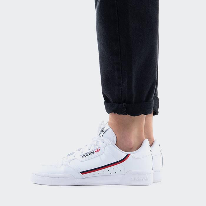 Damen schuhe sneakers adidas Originals Continental 80 J