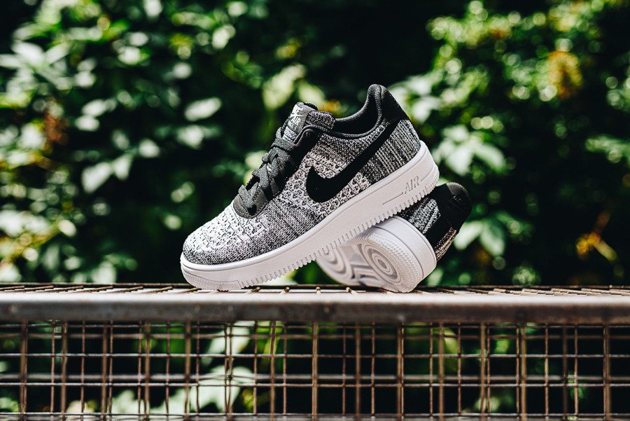 Nike Air Force 1 Flyknit 2.0 (GS) BV0063 001 | WEIβ | für 94