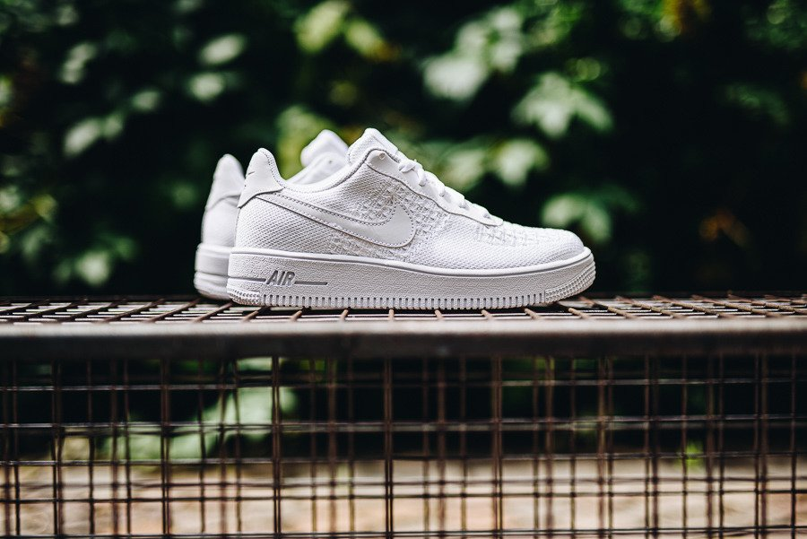 Nike Air Force 1 Flyknit 2.0 (GS) BV0063 100 | WEIβ | für 94