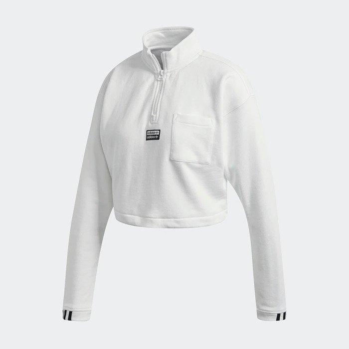 adidas Originals R.Y.V. Cropped Sweatshirt FM2505 | WEIβ