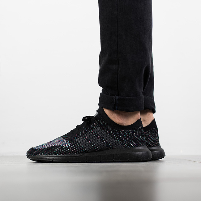 adidas Originals Swift Run Primeknit CG4127 | czarne | für