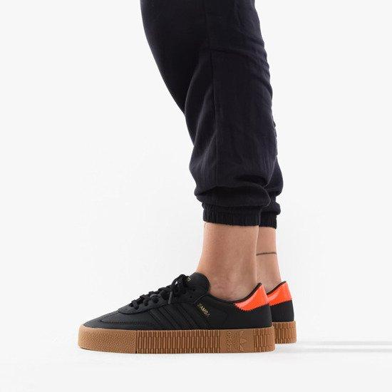 Damen adidas Gelb Sambarose Zip Sneaker