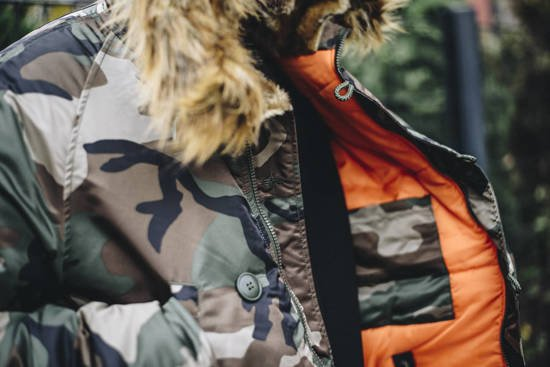 Alpha Industries Parka Camo N3B VF 59 103141 408