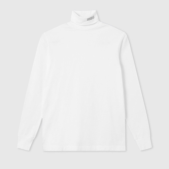 Wood Wood Austin Turtleneck 11935401-2470 Bright White