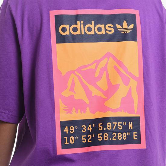 adidas Originals Graphic sweatshirt Violet