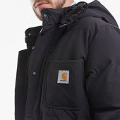 Carhartt Alpine Coat I023081 BLACK/HAMILTON BROWN