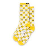 Vans x The Simpsons Check Eyes Sock VN0A4V46ZZY